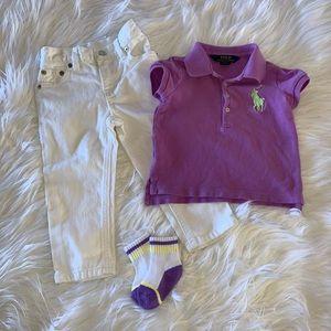 Ralph Lauren Outfit Spring/Summer 2T